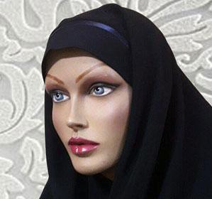 مقنعه تل دار و خرید مقنعه تل سر خود و خرید مقنعه تل دار