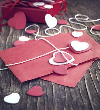 ایده برای ساخت کارت پستال عاشقانه
