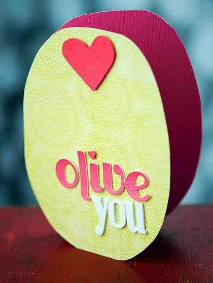 ایده برای کارت پستال عاشقانه ساخت