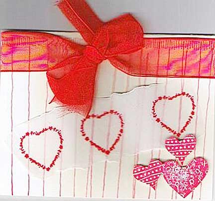 کارت پستال عاشقانه ساخت