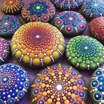 با یادگیری نقاشی روی سنگ همه را شگفت زده کنید !!!