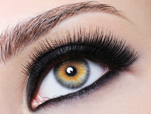 آرایش کردن چشم,نحوه آرایش کردن چشم,طرز آرایش کردن چشم,روش آرایش کردن چشم