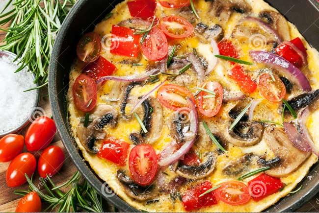 طرز تهیه املت قارچ,طرز تهیه املت قارچ و گوجه,طرز تهیه املت قارچ و گوجه فرنگی,طرز تهیه املت گوجه فرنگی با قارچ
